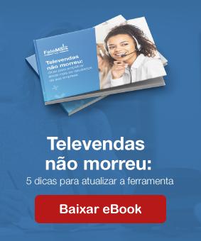 """banner para baixar e-book """"televendas não morreu"""""""