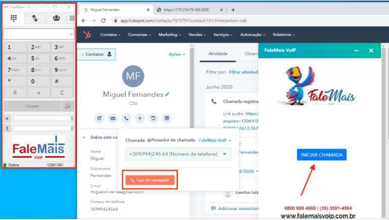 Integração Voip FaleMais e HubSpot: confira como funciona a novidade